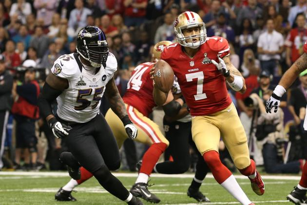 Terrell Suggs Calls Colin Kaepernick 'The Truth' at QB