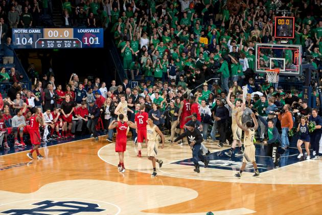 Louisville vs. Notre Dame in Quintuple Overtime: Does It Get Any Better?