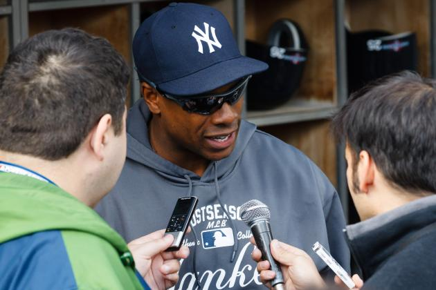 Granderson Hasn't Heard from Yankees About Extension