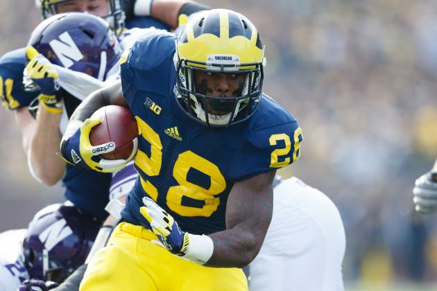 Michigan Football: Mark It Down, Fitz Toussaint Will Be Ready for 2013 Opener