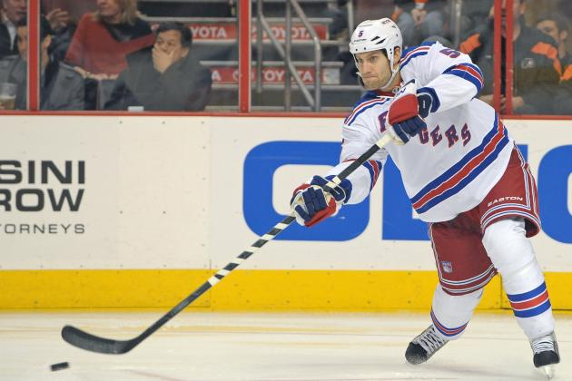 Girardi's Return a 'D'-Light for Rangers