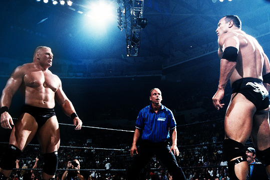 Brock Lesnar vs. The Rock Will Happen in 2013