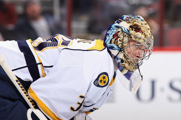 Nashville's Rinne: 'It's Tough to Win When You Don't Score Goals'