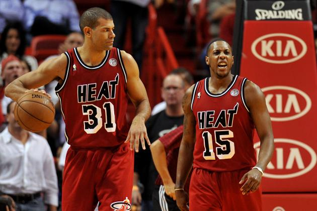 Heat Feeling Good as Chalmers, Battier Get Healthy