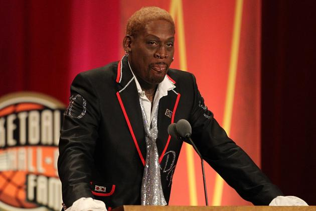Rebounder Rodman Talks Games, Bulls, MJ