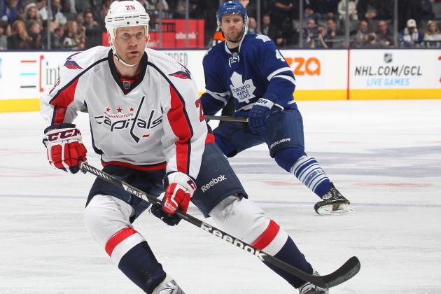 Caps' Jason Chimera Discusses Realignment