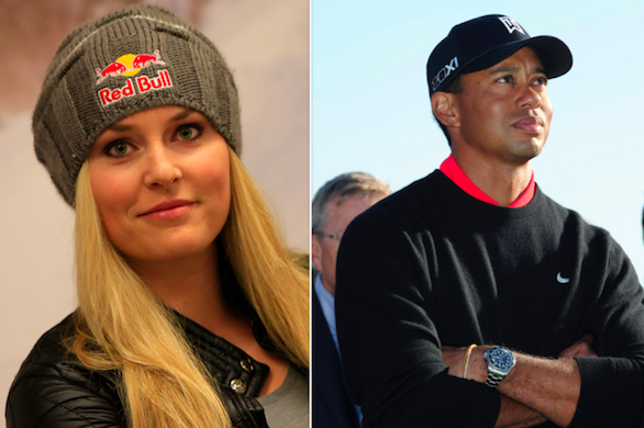 Tiger Woods and Lindsey Vonn Dating Rumors Abound Once Again