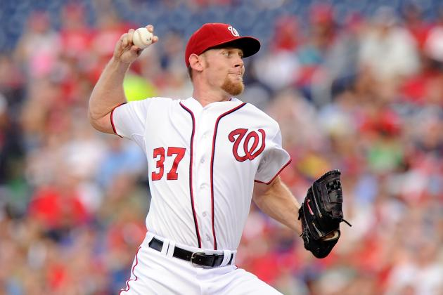 Strasburg Ready to Be Nationals' 'Workhorse'