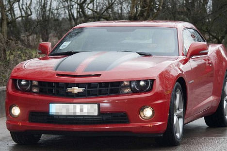 Hot Wheels! Which United Stars Arrived for Work in Brand New Chevrolets?