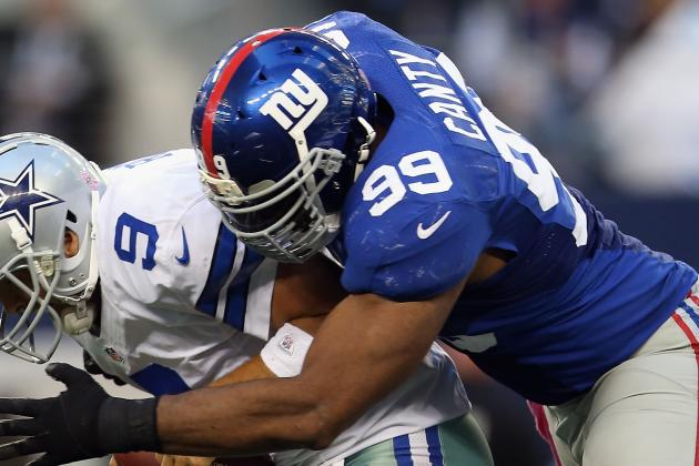 Chris Canty Rumors: Chiefs Showing Interest in Former Giants Defensive Lineman