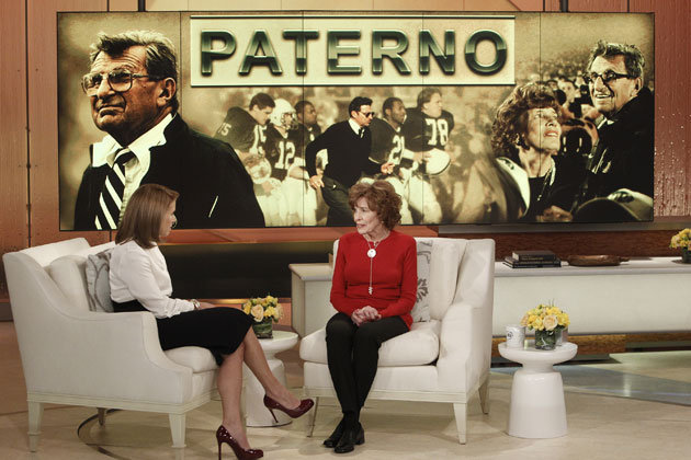 Joe Paterno's Family Pleads His Case on 'Katie'