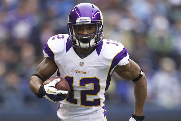 Percy Harvin: NFL Contenders That Must Make Offer for Vikings' Talented WR