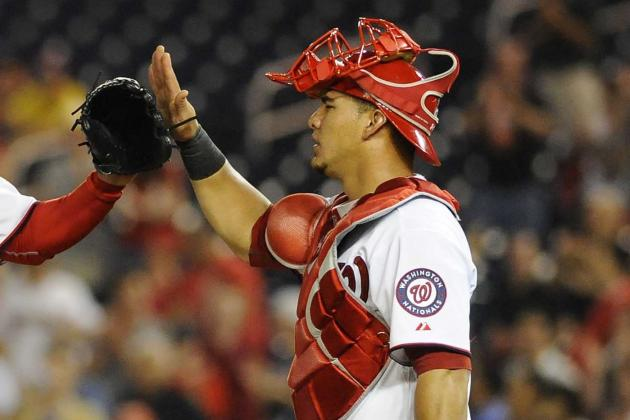 Wilson Ramos on Schedule with ACL Rehab