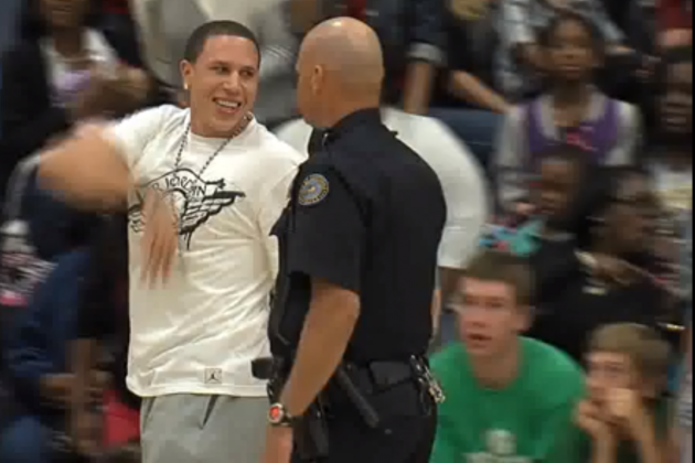Bibby in Retirement: Got Thrown out of the Gym During His Son's Basketball Game