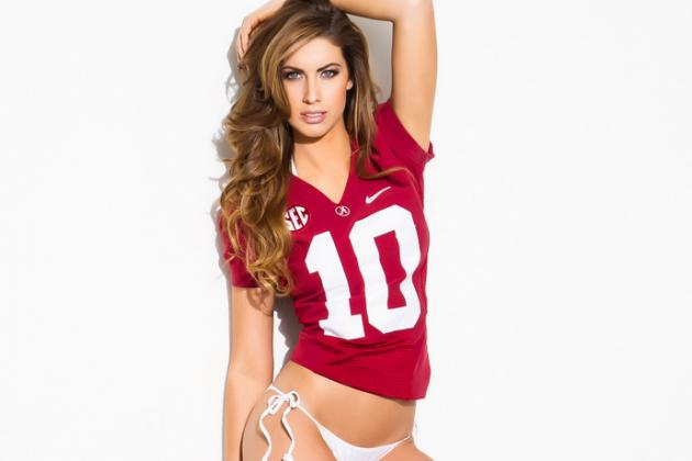Katherine Webb Reps Auburn and Alabama in Sexy Sports Illustrated Swimsuit Pics