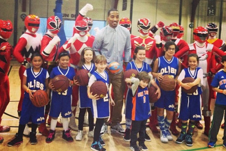 Instagram: J.R. Smith Hanging with Power Rangers