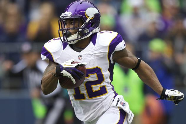 NFL Rumors: Best Fits for Disgruntled Vikings' WR Percy Harvin