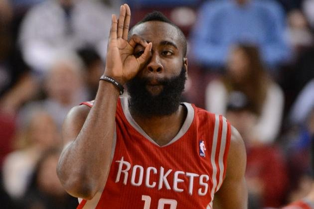 James Harden Day-to-Day with Sore Knee