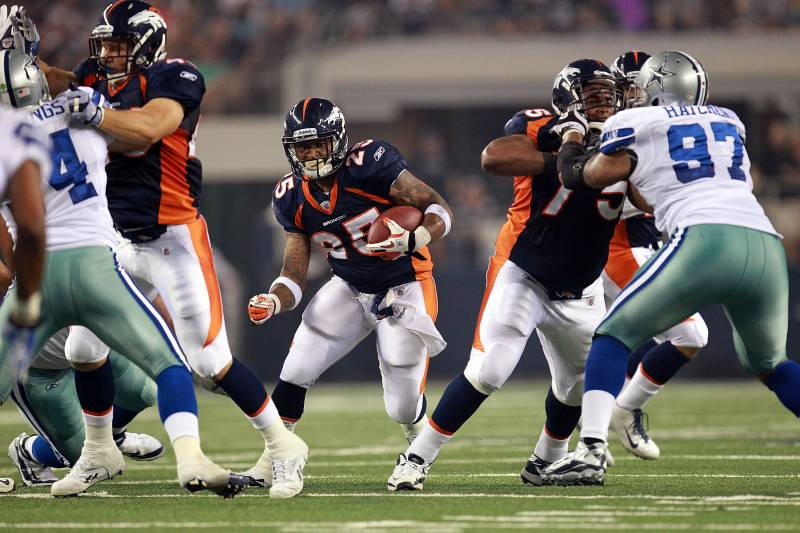Thanksgiving day game reportedly highlights denver broncos 2013 arlington tx august 11 lendale white 25 of the denver broncos at voltagebd Image collections