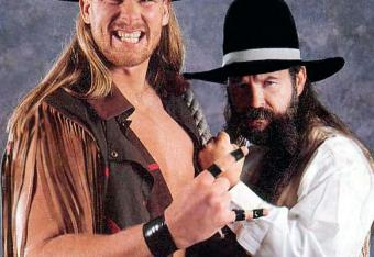 Photo: WWE.com (Zebekiah and JBL back in the day)