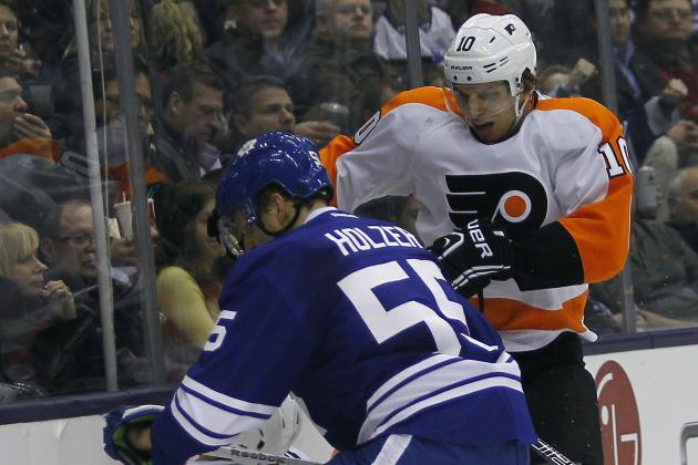 Maple Leafs Beat Flyers 5-2