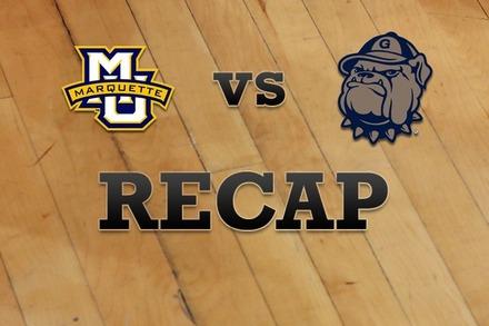 Marquette vs. Georgetown: Recap, Stats, and Box Score