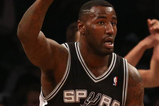 Spurs Talked Blair Trade with Raptors, Pistons