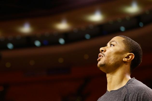Recovering Bulls Point Guard Derrick Rose 'Right Where He Should Be'