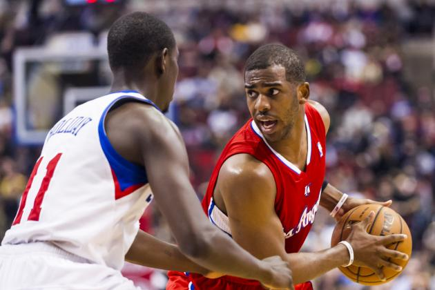 Chris Paul, Blake Griffin help Clippers cruise past 76ers, 107-90