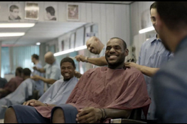 Escobar Barber Shop Gains Fame with LeBron James' Commercial