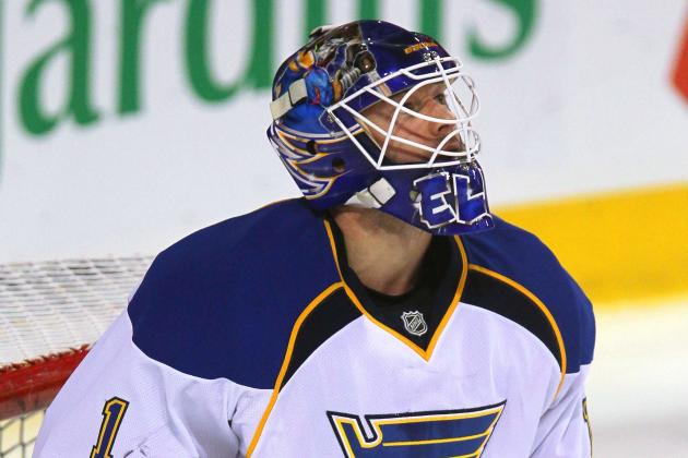 Elliott Gets Surprise Start for Blues over Halak