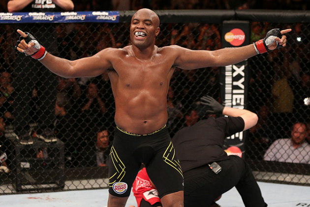 UFC Champion Anderson Silva Nominated on ESPN's 'Greatest of All Time' List