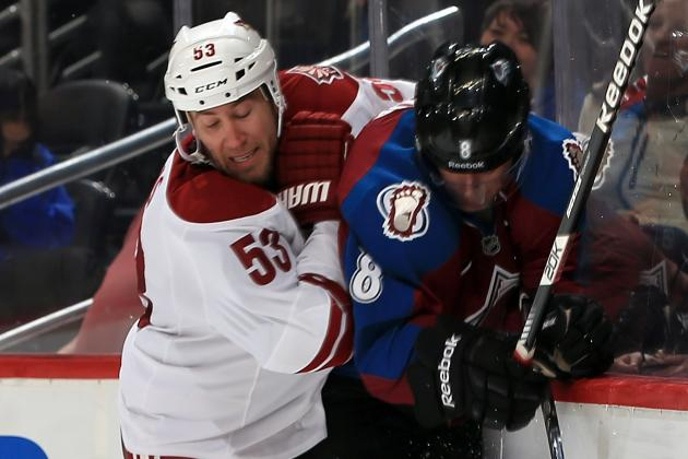 Avs Lose 3-2 in Overtime to Phoenix Coyotes