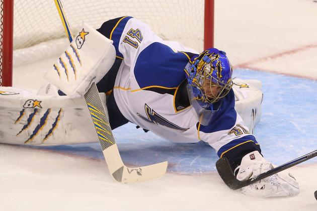 Jaroslav Halak Re-Injures Groin in Warmups