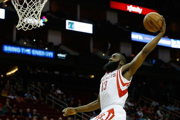 Who Would Win a Houston Rockets-Only Dunk Contest?