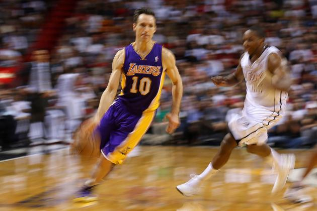 Is Steve Nash Re-Living His Rookie Season?