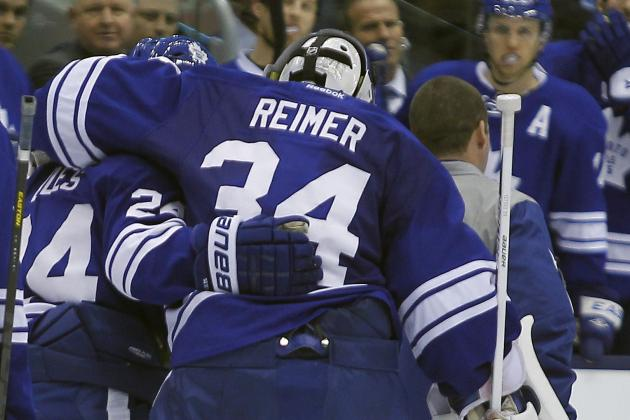 Leafs Pummel Flyers but Lose James Reimer to Injury