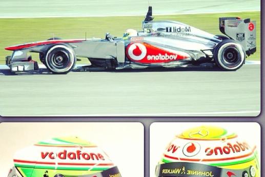 Instagram: Sergio Perez's 2013 McLaren Kit