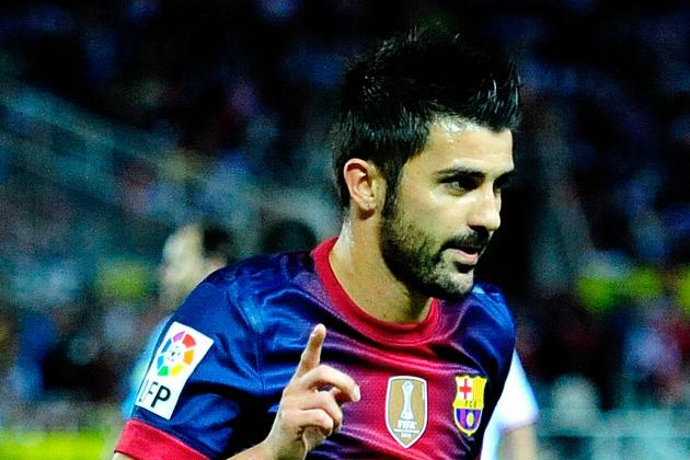 David Villa Released from the Hospital