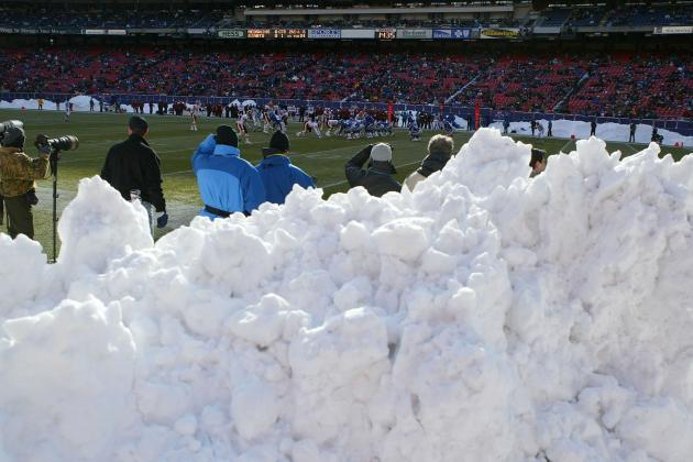 Report: NFL Has Contingency Plan for Snowy New York Super Bowl