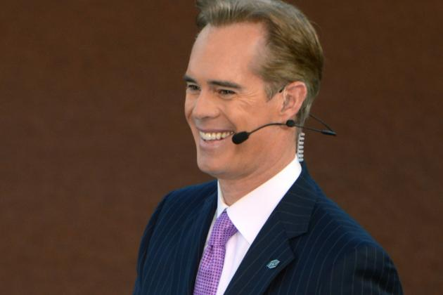 Joe Buck Calls a Hockey Game (Sort Of)