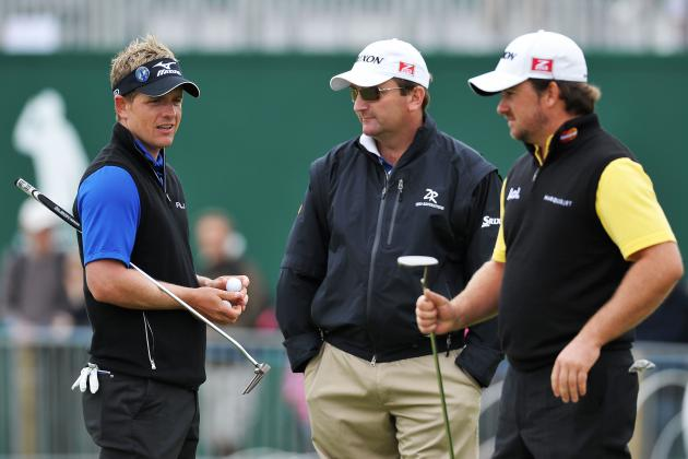Graeme McDowell, Ernie Els and Luke Donald Make 2013 Debut in L.A.