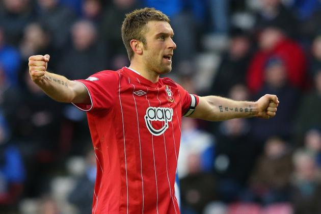 Rickie Lambert Would Be Happy to End His Career at Southampton