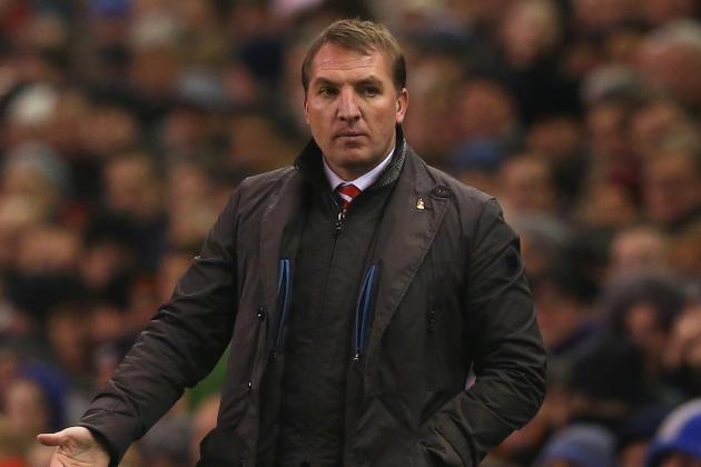Rodgers Rues Liverpool 'Setback'