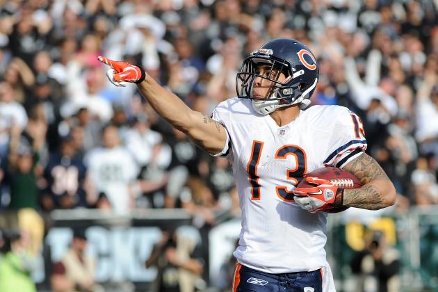 Chicago Bears Release Wide Receiver Johnny Knox