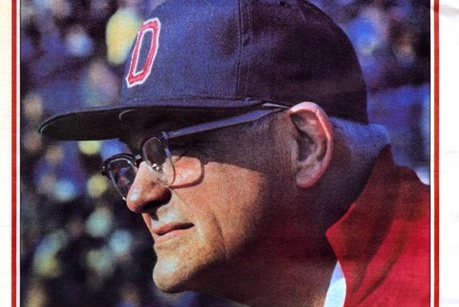 Woody Hayes' Secret Motivational Tactic Was Letting a Snapping Turtle