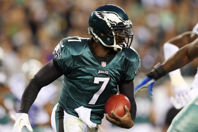 Vick Thinks He Can Run for 1,000 Yards in Kelly's Offense