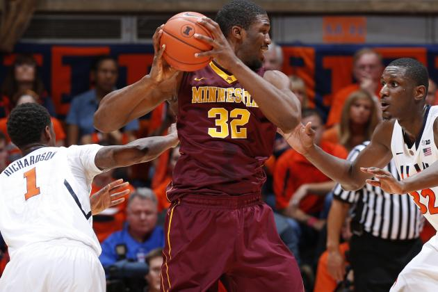 Mbakwe Predicts Gophers Will 'Win Out' After 5th Big Ten Defeat