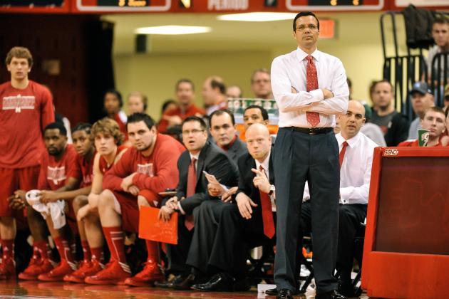 Nebraska Coach Tim Miles Wants to Slow Down the Top-Ranked Hoosiers