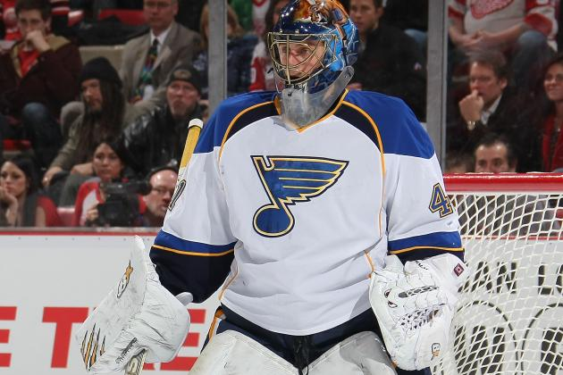 Halak 'probably' out Another Week, Blues Recall Allen